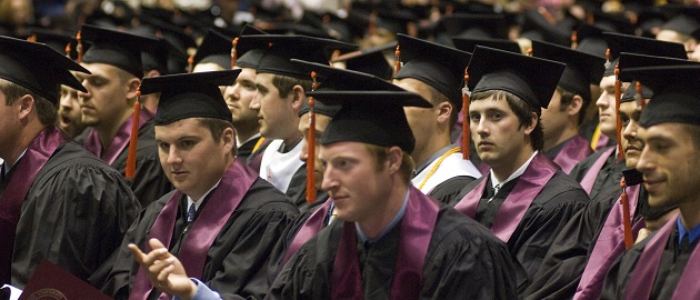 Students Graduating with a Bachelor Degree in Engineering