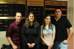 Engineering team finishes in top six in Cornell Cup